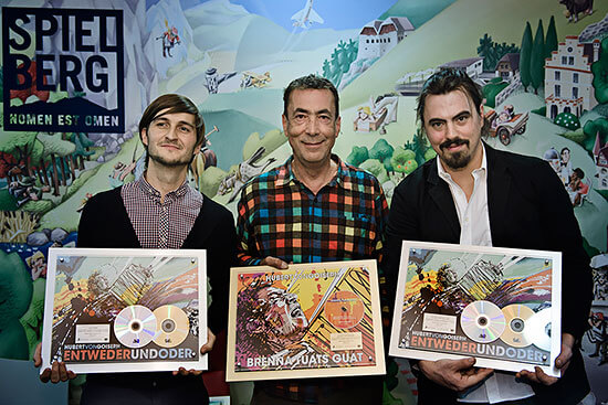 Alex Pohn, Hubert von Goisern and Severin Trogbacher